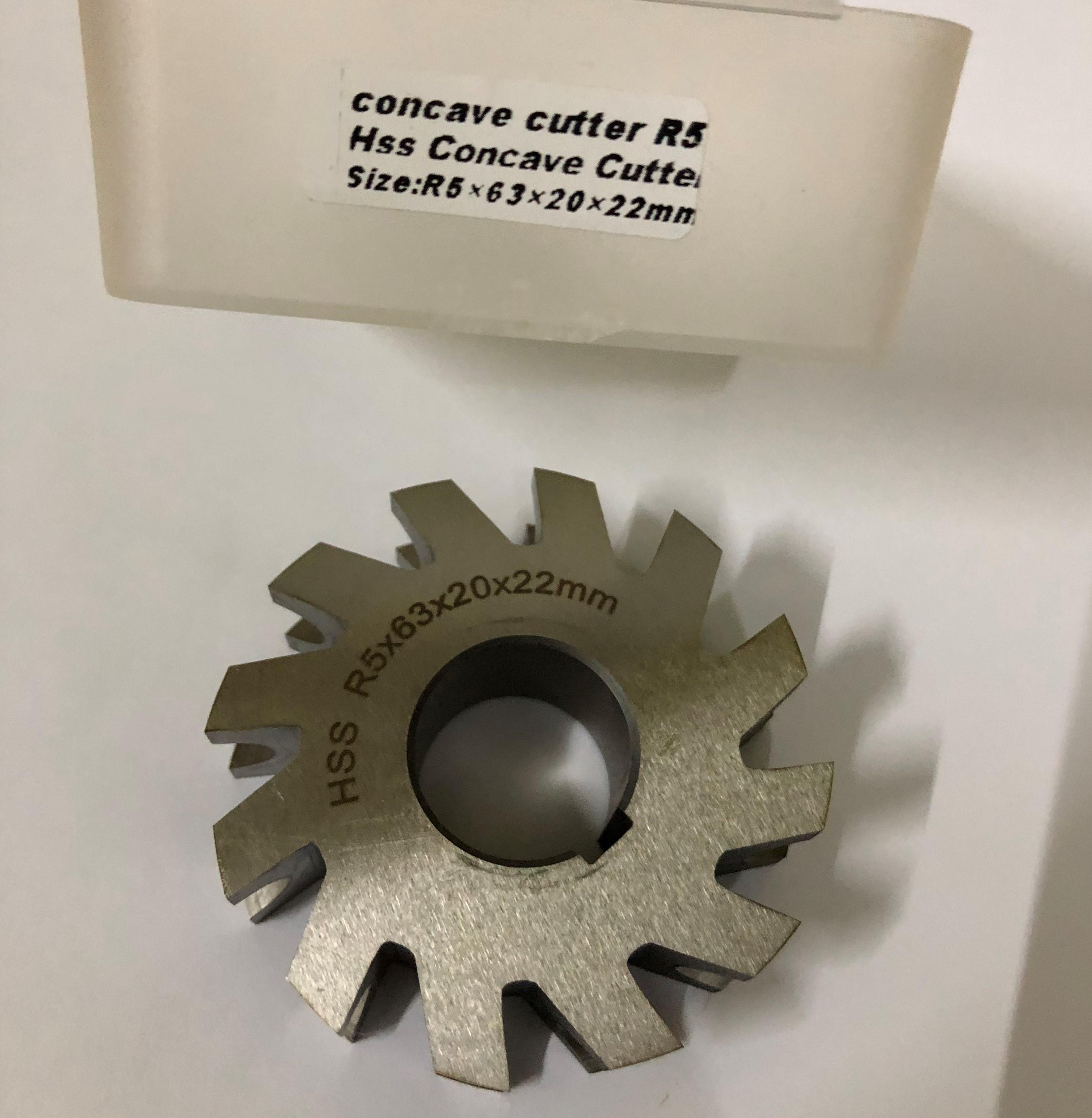 Concave Cutter R5